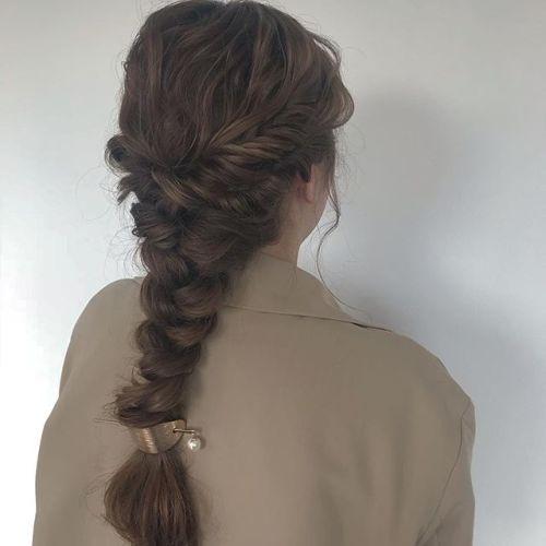 担当シオリ @shiori_tomii スーパーロングヘアをあみあみアレンジ🧚♀️#hearty#shiori_hair #hairarrange #ヘアアレンジ#高崎美容室