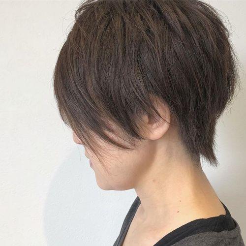 stylist:ミヤハラ @hearty_miyahara 大人ハイライト動きと立体感up🦕#hearty#大人カラー#color#ショートヘア
