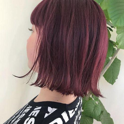 担当シオリ @shiori_tomii pink color#hearty#shiori_hair #ピンクカラー #高崎美容室
