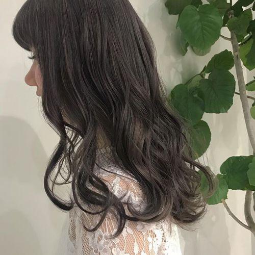 担当シオリ @shiori_tomii ラベンダーグレージュでトーンダウン#hearty#shiori_hair #ラベンダーグレージュ#グレージュ#透明感カラー#高崎美容室
