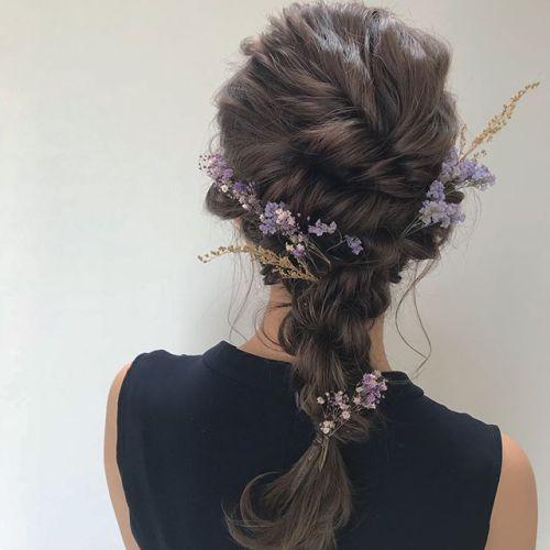 担当シオリ @shiori_tomii hair set#hearty#shiori_hair #ヘアアレンジ#hairarrange #ヘアセット#高崎美容室#結婚式アレンジ