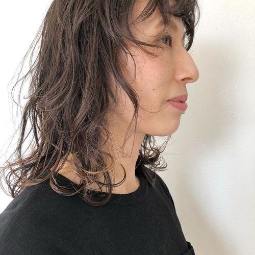 stylist: @hearty_miyahara 大人ウルフ&大人ハイライト#hearty#hair#ウルフ#ハイライト
