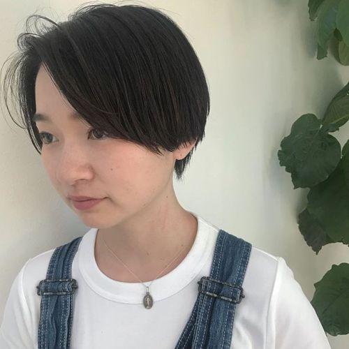 担当シオリ @shiori_tomii 外国の子供のようなshort🤸♀️🤸♀️#hearty#shiori_hair #shorthair #高崎美容室#高崎