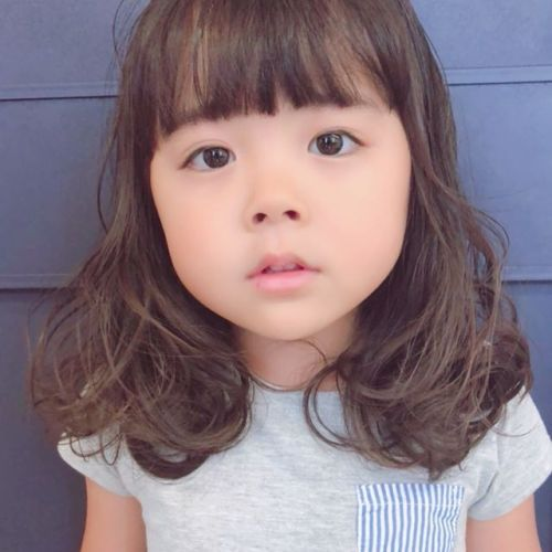 cuteな姪っ子ちゃんstylist: @hearty_miyahara #hearty#cute#cut#kids cut