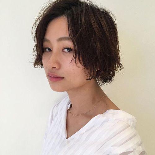 stylist:塚越ボブ+パーマ︎毎日のスタイリングが楽チンになりますよパーマスタイルお任せ下さい#hearty#パーマ#ボブ#高崎#美容室