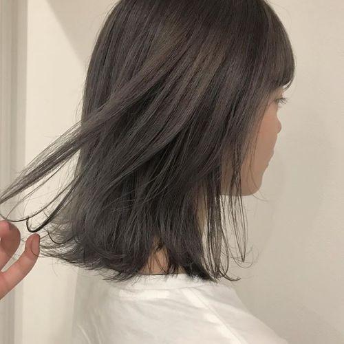 担当シオリ @shiori_tomii ラベンダーベージュのグラデーション#hearty#shiori_hair #ラベンダーベージュ#ハイトーン#高崎美容室#高崎