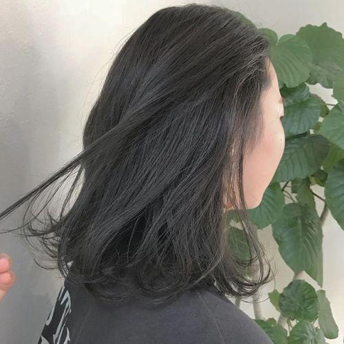 担当シオリ @shiori_tomii シアーグレージュ🦈🦈ブリーチなしです♡#hearty#shiori_hair #シアーグレージュ#グレージュ#高崎美容室#高崎