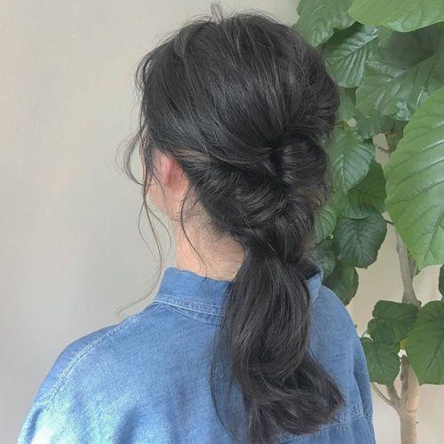 担当シオリ @shiori_tomii ヘアアレンジ🥀🥀#hearty#shiori_hair #ヘアアレンジ#ヘアセット#高崎美容室#高崎