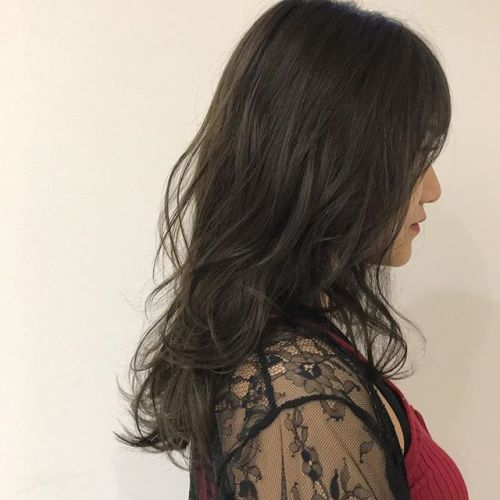 担当シオリ @shiori_tomii アッシュブラウン#hearty#shiori_hair #アッシュブラウン#ベージュ#高崎美容室#高崎