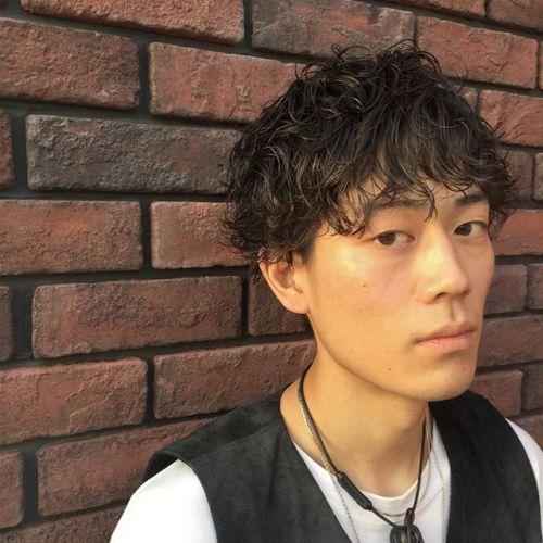 stylist:塚越メンズパーマ︎ #hearty#メンズ#パーマ#高崎#美容室
