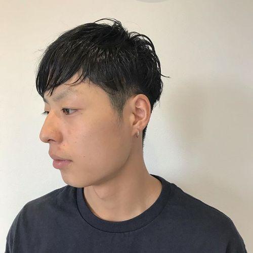 担当シオリ @shiori_tomii men's cut#hearty#shiori_hair #menshair #高崎美容室#高崎