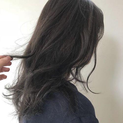 担当シオリ @shiori_tomii 安定のグレージュカラー#hearty#shiori_hair #グレージュ#高崎美容室#高崎