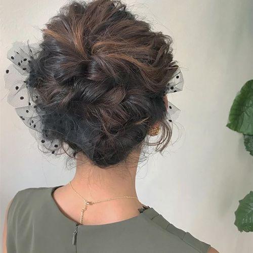 担当シオリ @shiori_tomii ヘアセットBOBでもアップにできますよ♡#hearty#shiori_hair #ヘアスタイル#ヘアアレンジ#ヘアセット#高崎美容室#高崎
