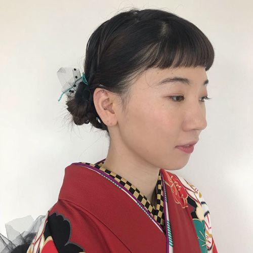 担当シオリ @shiori_tomii 前撮り撮影♡ヘアメイク写真撮影も全部できます!詳しくはHPをご覧下さい♡人と被らないようなあえてタイトなヘアスタイルに♡#hearty#shiori_hair #ヘアスタイル#ヘアアレンジ#成人式ヘア #前撮りヘア #撮影#高崎美容室#高崎