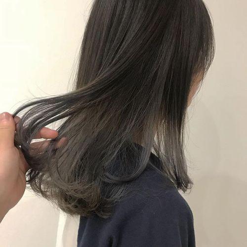 担当シオリ @shiori_tomii ラベンダーグレージュ🦈#hearty#shiori_hair #ラベンダーグレージュ #グレージュ#ヘアカラー#高崎美容室#高崎