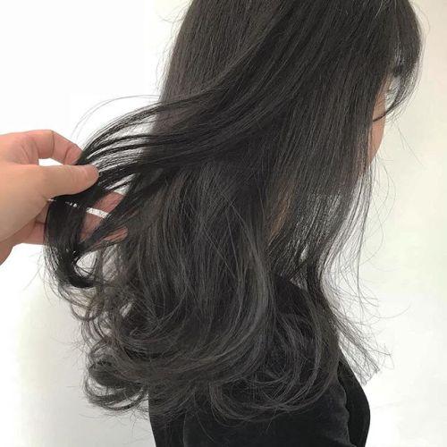 担当シオリ @shiori_tomii 大人気グレージュ🦈#hearty#shiori_hair #グレージュ#ベージュ#ヘアカラー#ヘアスタイル#透明感カラー#高崎美容室#高崎