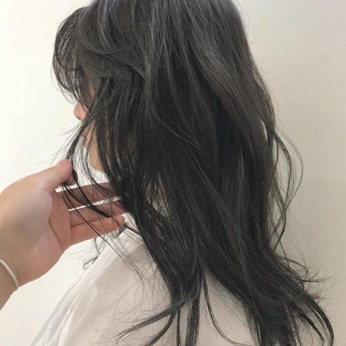 担当シオリ @shiori_tomii ブリーチなしのグレージュカラー♡透明感抜群です♡#hearty#shiori_hair #グレージュ#ベージュ#ヘアスタイル#ヘアカラー#高崎美容室#高崎