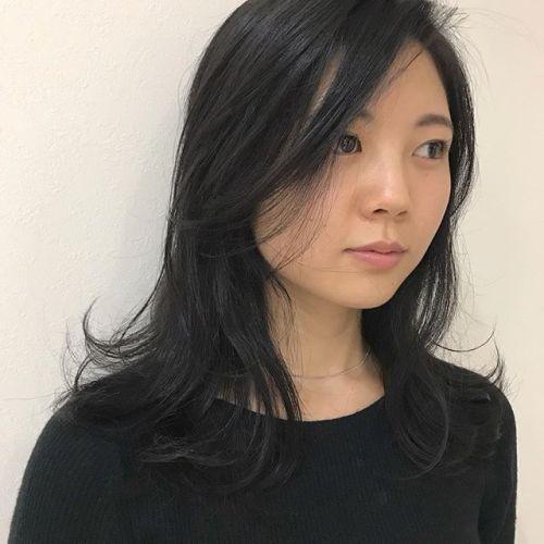 担当シオリ @shiori_tomii トーンダウンもダークグレーなら黒染めではないので色落ちしても綺麗なカラーになってくれます!#hearty#shiori_hair #ダークグレー#グレージュ#ヘアカラー#ヘアスタイル#高崎美容室#高崎