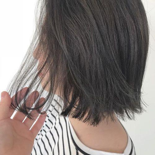 担当シオリ @shiori_tomii ブリーチなしのマットグレー#hearty#shiori_hair #マットグレー#グレージュ#透明感カラー#くすみカラー#ヘアカラー#ヘアスタイル#高崎美容室#高崎