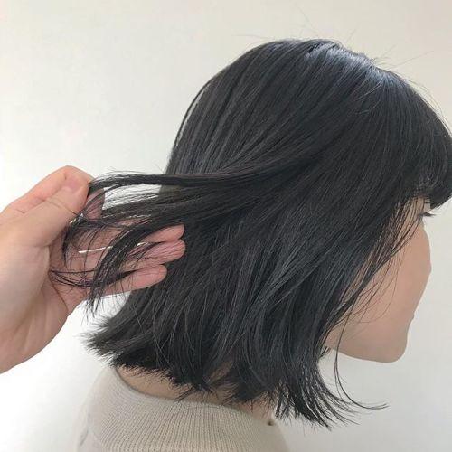 担当シオリ @shiori_tomii オレンジみ0カラーバッサリBOBにさせてもらいました#hearty#shiori_hair #グレージュ#透明感カラー #bob#ヘアスタイル#ヘアカラー#高崎美容室#高崎