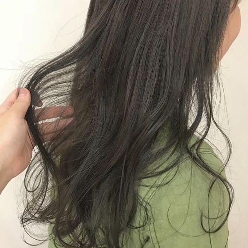 担当シオリ @shiori_tomii 柔らかいアッシュベージュ#hearty#shiori_hair #アッシュ#アッシュベージュ#グレージュ#ヘアスタイル#ヘアカラー#透明感カラー #高崎美容室#高崎