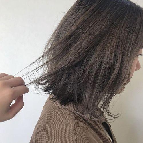 担当シオリ @shiori_tomii アッシュベージュ♀️#hearty#shiori_hair #グレージュ#アッシュベージュ#グラデーション#ヘアスタイル#ヘアカラー#高崎美容室#群馬美容室#高崎#群馬