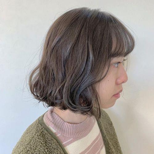 担当シオリ @shiori_tomii ブリーチなしの柔らかクリームベージュ🥣🥣#hearty#shiori_hair #creambeige#クリームベージュ#アッシュベージュ#ベージュ#高崎美容室#群馬美容室#高崎#群馬
