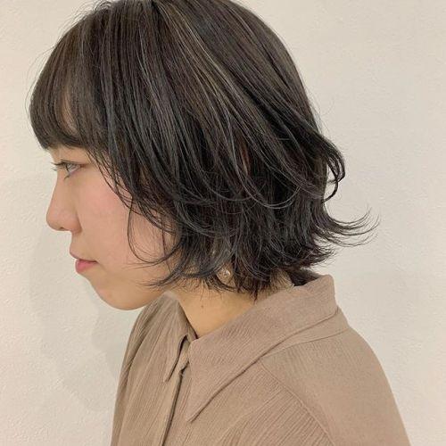担当シオリ @shiori_tomii 細かなハイライトをたくさん散りばめたムラカラー#hearty#shiori_hair #ムラカラー#ハイライト#ポイントカラー#高崎美容室#群馬美容室#高崎#群馬