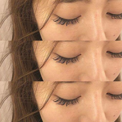 .HEARTY EYELASH .目尻長めの綺麗めデザイン♡.年内のご予約お早めにお願い致します︎.eyelist ((( @__ememr ))).#HEARTY #eyelash