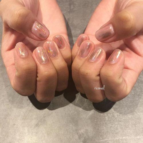 新色のミラーパウダーを使って ムラっぽいミラーに仕上げました✩#riconail #HEARTY #abond #nail #nails #gelnail #gelnails #nailart #instanails #nailstagram #beauty #fashion #nuancenail #ネイル #ジェルネイル #ネイルデザイン #ニュアンスネイル #ヴィンテージネイル @riconail123