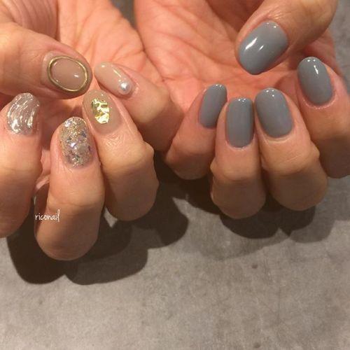 nudie × smoky blue ️#riconail #HEARTY #abond #nail #nails #gelnail #gelnails #nailart #instanails #nailstagram #beauty #fashion #nuancenail #ネイル #ジェルネイル #ネイルデザイン #ニュアンスネイル #ヴィンテージネイル #アシンメトリーネイル @riconail123