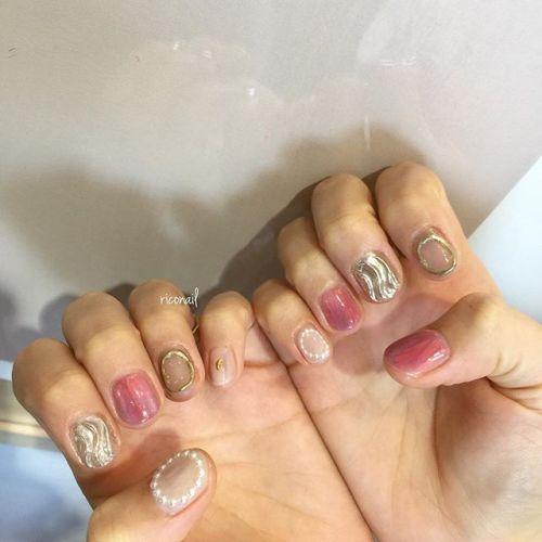 美しすぎる花嫁さんのブライダルネイル❦#riconail #HEARTY #abond #nail #nails #gelnail #gelnails #nailart #instanails #nailstagram #beauty #fashion #nuancenail #ネイル #ジェルネイル #ネイルデザイン #ニュアンスネイル #ヴィンテージネイル #ブライダルネイル @riconail123