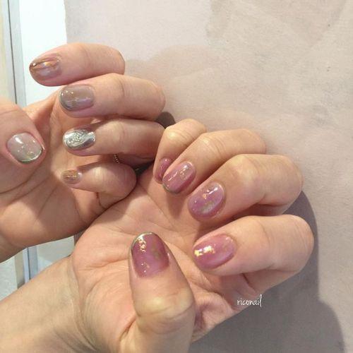 人気急上昇中のくすみピンクʚ︎ɞ#riconail #HEARTY #abond #nail #nails #gelnail #gelnails #nailart #instanails #nailstagram #beauty #fashion #nuancenail #ネイル #ジェルネイル #ネイルデザイン #ニュアンスネイル #ヴィンテージネイル #アシンメトリーネイル @riconail123