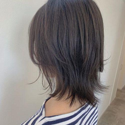 担当シオリ @shiori_tomii 柔らかいモカベージュ🐕自然な地毛のようなカラーにしました♡#hearty#shiori_hair#モカベージュ#地毛風カラー #グレージュ#ダークグレー#高崎美容室#群馬美容室 #高崎#群馬
