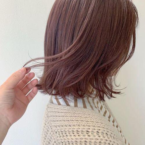 担当シオリ @shiori_tomii ピンクラベンダー#hearty#shiori_hair #ピンクラベンダー#ラベンダーベージュ#高崎美容室#群馬美容室#高崎#群馬