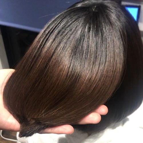 ・HEARTYのトリートメントショートの方からロングの方まで艶のあるサラサラな髪にしましょう!・夏の紫外線で痛む髪や、パサつき、ボーリュームが気になる方、本当におススメです!少しでも気になったらご相談ください♡#hearty #艶髪 #トリートメント #髪質改善