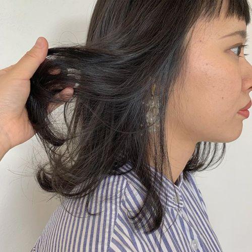 担当シオリ @shiori_tomii 透明感グレージュ#hearty#shiori_hair #グレージュ#グレー#ベージュ#透明感カラー#高崎美容室 #群馬美容室#高崎#群馬