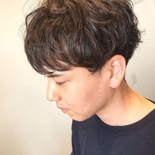 やっぱり王道黒髪マッシュは良きです。@hearty_nogami_0925#HEARTY#abond#高崎#高崎美容室#AULALEE#comoli#fashion#ショート#ボブ#ボブスタイル#ハンサムショート#センターパート#奥行きショート#エヌドット#ポリッシュオイル#横顔美人#YAY#マッシュ#黒髪マッシュ