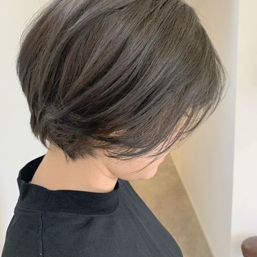 担当シオリ @shiori_tomii 赤みを抑えたオリーブグレー#hearty#shiori_hair #オリーブベージュ #オリーブグレージュ #グレージュ#くすみカラー#高崎美容室#群馬美容室#高崎#群馬