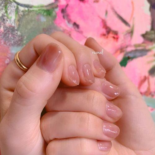 モヤっとベージュ︎#riconail #HEARTY #abond #nail #nails #gelnail #gelnails #nailart #instanails #nailstagram #beauty #fashion #nuancenail #ネイル #ジェルネイル #ネイルケア #ニュアンスネイル #個性派ネイル @riconail123