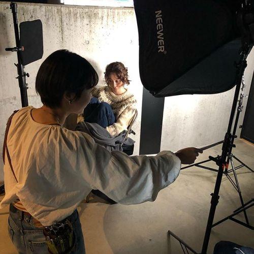 フォトシューティングパーマスタイル&アレンジを撮影しました。随時アップします。model:manahair: @hearty_miyaharamake&arrangeset:@momokakogawa