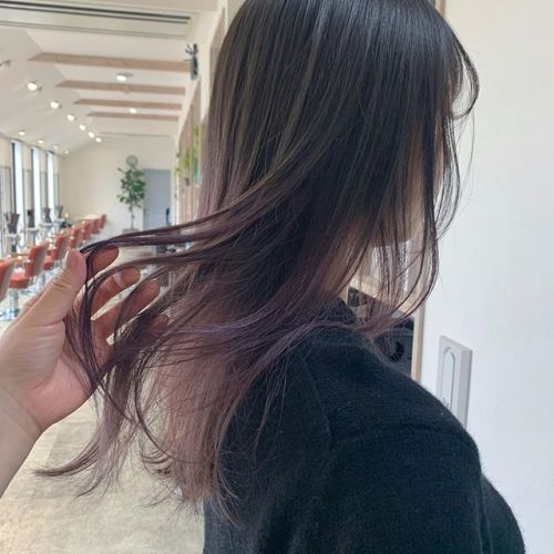 担当シオリ @shiori_tomii ラベンダーベージュのグラデーション🦒#hearty#shiori_hair #ラベンダーアッシュ #ラベンダーベージュ #グラデーション#ハイトーン#高崎美容室#群馬美容室#高崎#群馬