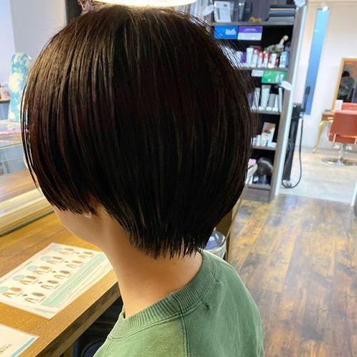 コンパクトに︎--hair by @jukito_yajima --#ショートボブ #ショート#ショートヘア#ハンサムショート#ボブ#bob#ショートウルフ#ボブウルフ#オリーブ#切りっぱなしボブ#パッっとボブ#メンズヘア#メンズパーマ#ショートパーマ#ウルフパーマ#ツイストパーマ#cut#カット#カラー#パーマ#ロングレイヤー#ミディアムヘア#hair#ハイレイヤー#ハイライト#ハイライトカラー#バレイヤージュカラー#冬カラー#秋カラー