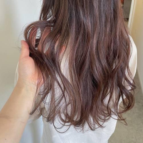 担当シオリ @shiori_tomii ピンクグレー#hearty#shiori_hair #ピンクグレー#グレージュ #ピンクヘアー #ピンクカラー #ピンクアッシュ #ピンクラベンダー #高崎美容室#群馬美容室#高崎#群馬