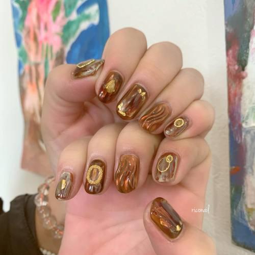 カットカラーとハンド&フットネイルを同時施術でやらせていただきました♡̷♡̷♡̷#riconail #HEARTY #abond #nail #nails #gelnail #gelnails #nailart #instanails #nailstagram #beauty #fashion #nuancenail #ネイル #ジェルネイル #ネイルケア #ニュアンスネイル #個性派ネイル @riconail123