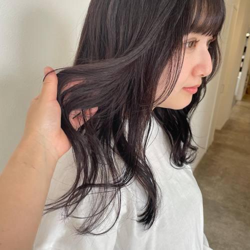 担当シオリ @shiori_tomii スタッフの小平 @emirikodaira をチョコレートブラウンに#hearty#shiori_hair #チョコレートブラウン#ショコラブラウン #ショコラグレージュ #高崎美容室#群馬美容室#高崎#群馬