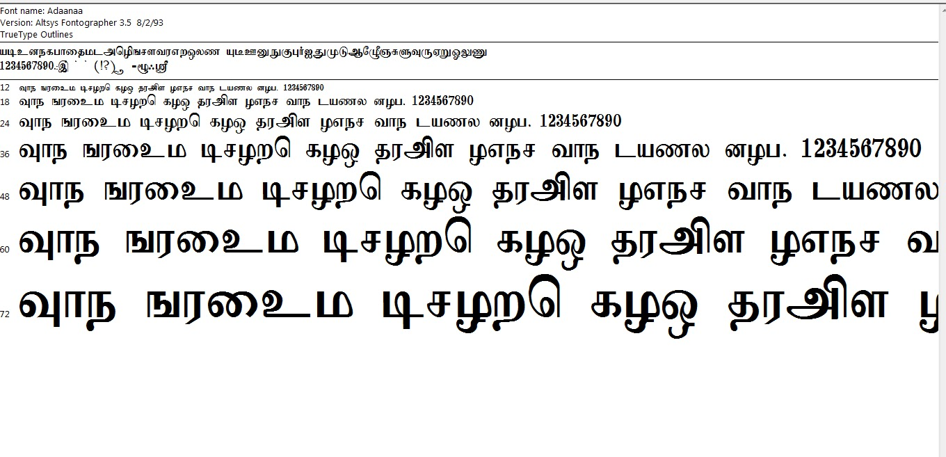 You done all thing now go to ms word select tamil font from drop. 11876 Tamil Fonts Pack Free Download Zip File Free Mockups Psd Template Design Assets