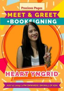 Booksigning @ Precious Pages Bookstore in SM Mall of Asia