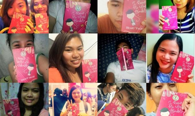 Readers' Selfie With SCH Book 1!