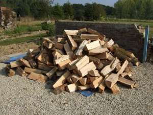 a cord of firewood